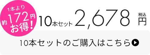 シリコンハケ10本セット