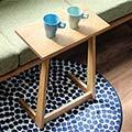 サイドテーブル 天然木 モンド