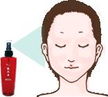 ヴィヴィアーニ肌真水のご使用方法1