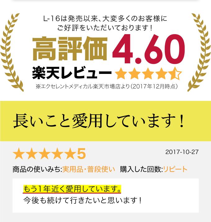 レビュー 高評価 4.60