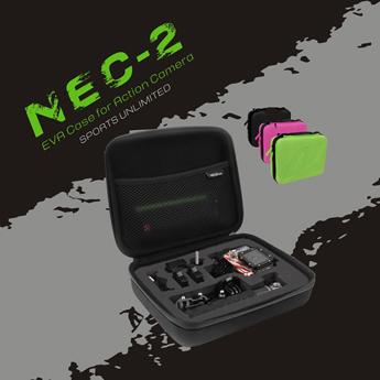 防水 カメラアクセサリー カメラ 収納ケース GoPro HERO/HERO2/Hero3/Hero3+/Hero4 アクセサリーケース コンパクト ◇NEC-2