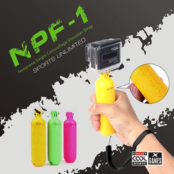 【NEOPine】アクションカメラ用 GoPro SJCAM SJ4000 フローティングハンドグリップ 浮動 ハンドグリップ ◇NPF-1