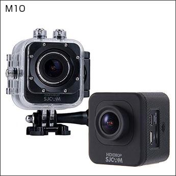 アウトドア アクション スポーツカメラ キューブタイプ SJCAM M10