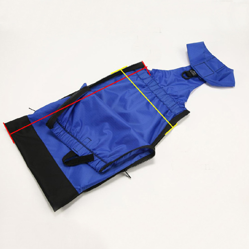 【送料無料】床ずれ防止ウェア XS(体重〜4kg用) 【ペット用介護用品】