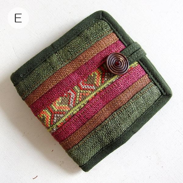 モン族 刺繍 財布
