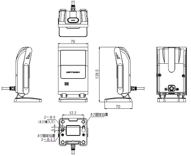 M-10 外形寸法図