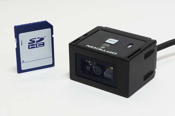 NLV-3101 世界最小クラス二次元スキャナ