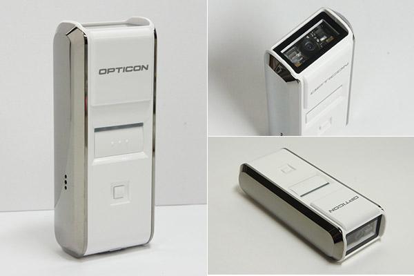スタイリッシュなデザイン OPN-3002i-WHT Bluetooth搭載 二次元データコレクタ