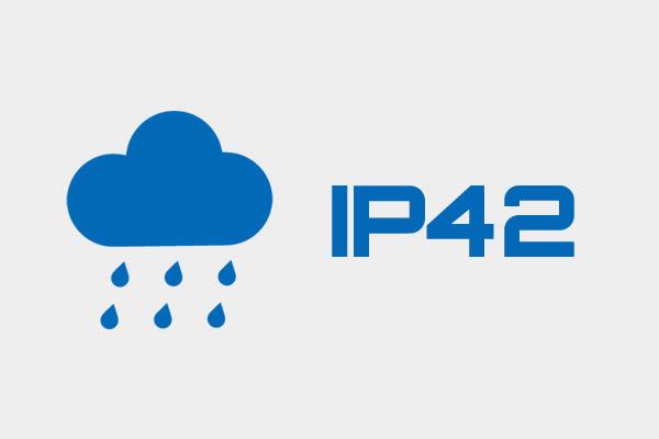 耐久性の高い設計 IP42 DS4308-RSR