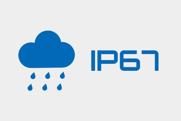 優れた耐環境性能 IP67