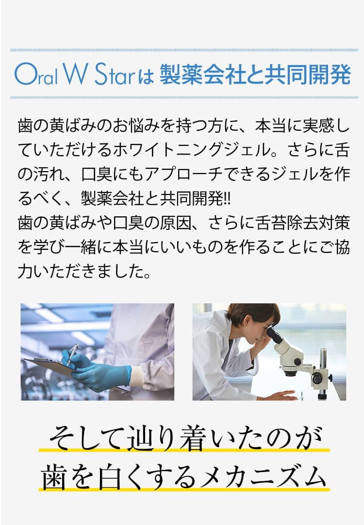 製薬会社と共同開発。