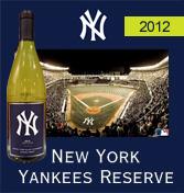 ニューヨーク・ヤンキース リザーヴ・シャルドネ[2012]New York Yankees Reserve Chardonnay