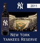 ニューヨーク・ヤンキース リザーヴ・カベルネ・ソーヴィニヨン[2011] New York Yankees Reserve Cabernet Sauvignon ニューヨーク・ヤンキース