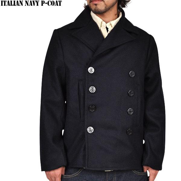 Italian Navy Pea Coat | Down Coat