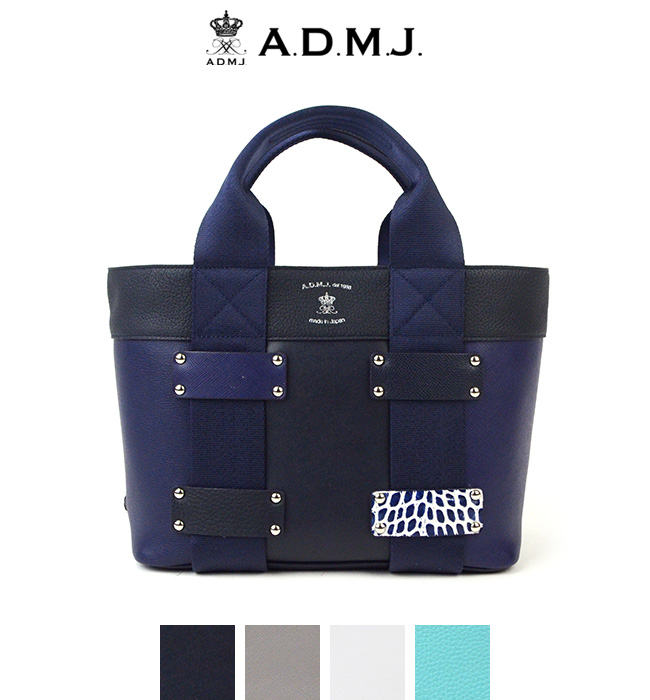 0eef7dbe3c7a ポイント10倍】ADMJ エーディーエムジェイ Multi Material Daily Totebag ...