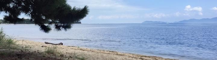琵琶湖 風景写真