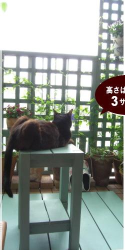 【woodpro楽天】ガーデンスツール(レトロ調 屋外用椅子)