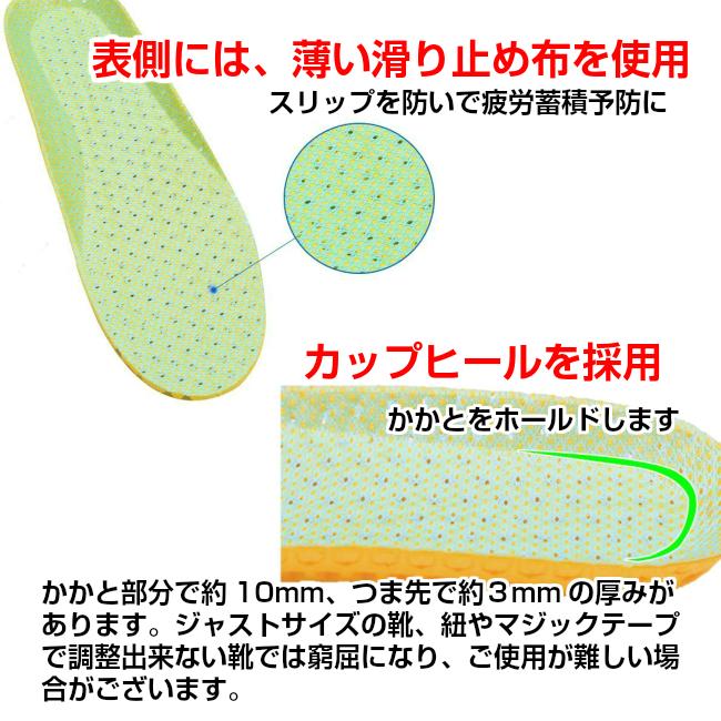 ハニカム インソール 【2足セット】 中敷き 軽い 衝撃吸収 メンズ インソール レディース インソール抗菌 防臭 底の薄い靴 ウォーキング 中敷 立ち仕事