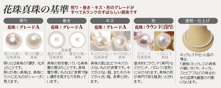 花珠真珠の基準