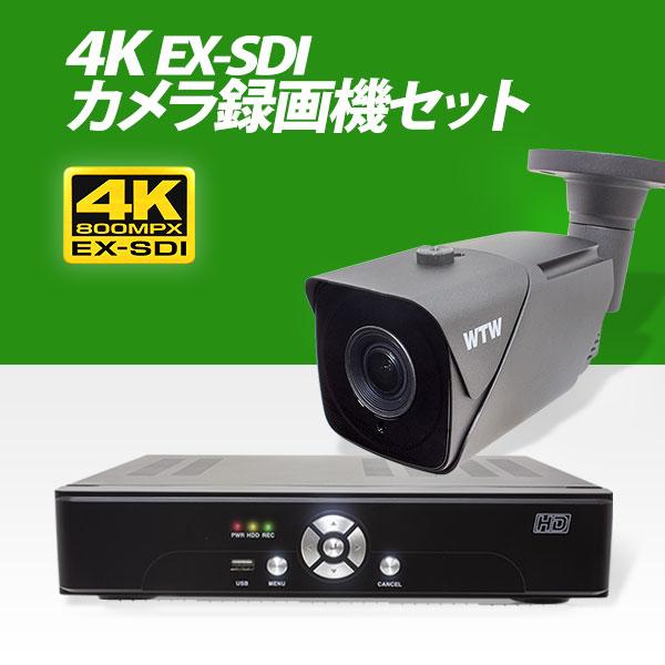 EX-SDIカメラ 4K800万画素 赤外線 塚本無線