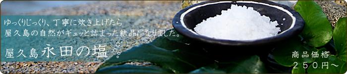 屋久島の天然塩