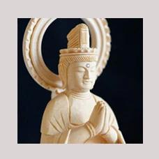 仏像 2寸 十二支守本尊 辰 巳 たつ へび 普賢菩薩 守り本尊 辰年 巳年