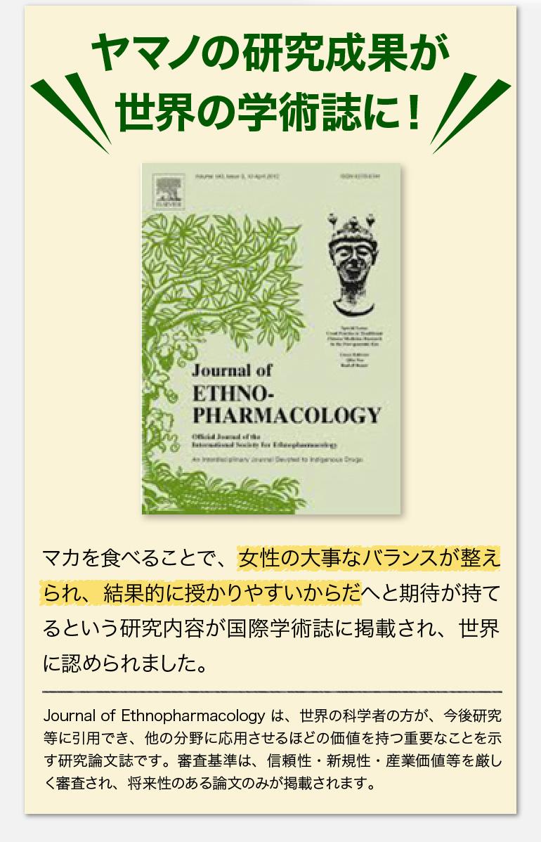 ヤマノの研究成果が世界の学術誌に!