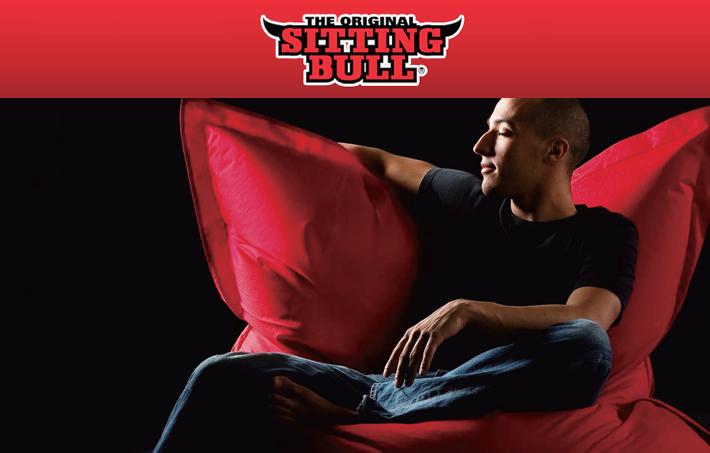 ドイツ製ビーズクッション・シッティングブル Sitting Bull