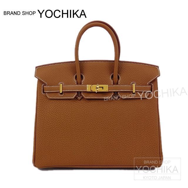 18557654cea1 HERMES Hermes handbag Birkin 25 ゴールドトゴゴールド metal fittings new article (HERMES  Birkin25 Bag Gold Togo GHW Brand New )  よちか