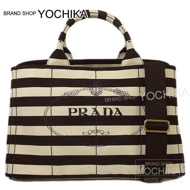 78c2c93173dd PRADA Prada CANAPA カナパ 2Way shoulder tote bag tobacco-brown X cream canvas  B2642B new article-free (CANAPA 2Way Shoulder Totebag Tabaco Brown/Cream ...