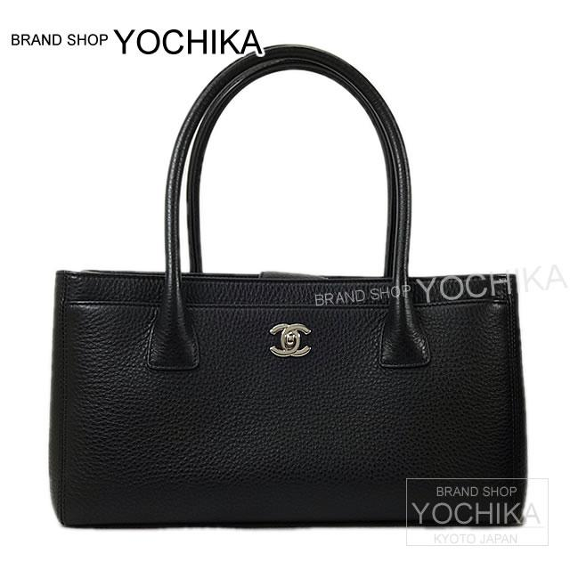92648cf1acb CHANEL Chanel Executive line Tote Bag Black embossed leather A67282 new   yochika as well as ( Pre-loved  CHANEL Executive Line ToteBag Brack  Embossed ...