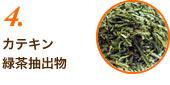 4.カテキン緑茶抽出物