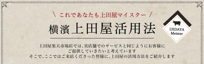 上田屋活用法