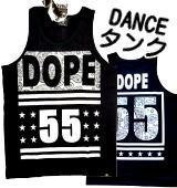 ダンス衣装 ヒップホップ ビッグロゴ 英字 プリント 白黒 モノトーン Tシャツ