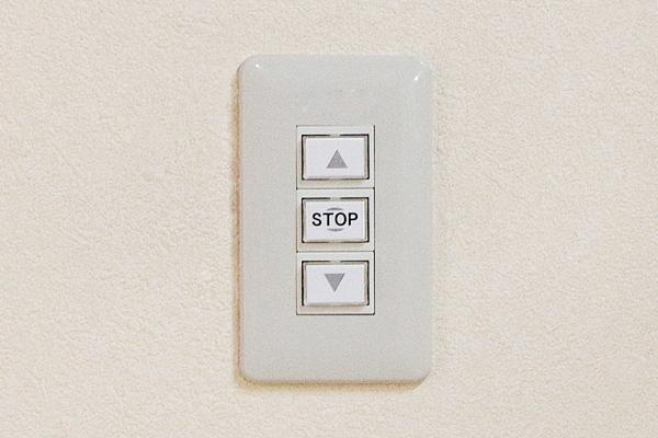 埋め込みスイッチで確実操作