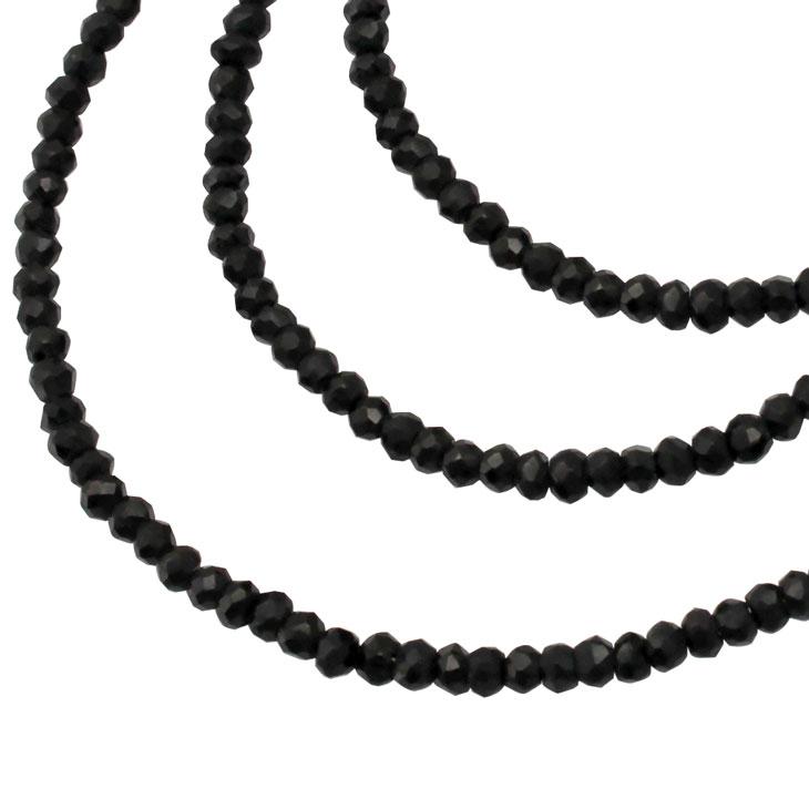 LARA Christie (ララクリスティー)ブラック スピネル ネックレス