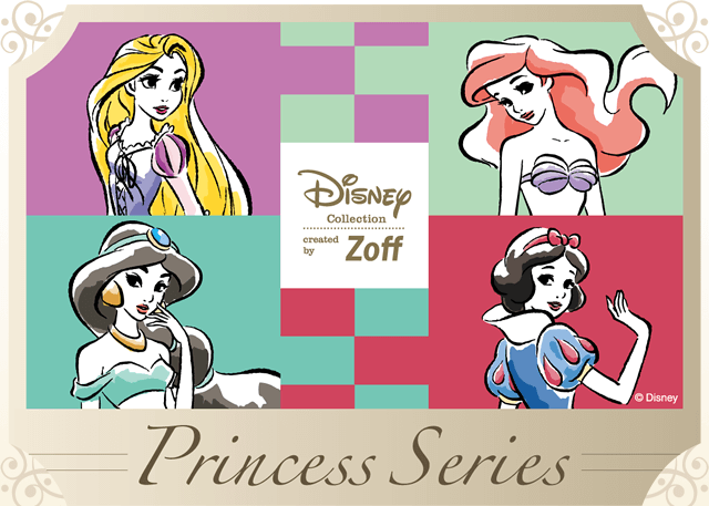 DISNEY Collection created by Zoff Princess Line(ディズニー